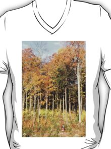 Little Woman or Big Trees? T-Shirt
