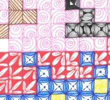 Zentangle Mario Sticker