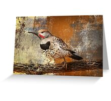 Gilded Flicker Greeting Card