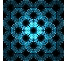 Square Tile [Messed Up] | Future Art Fashion Photographic Print