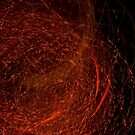 Fireworks in Abstract 04 by Aden Brown
