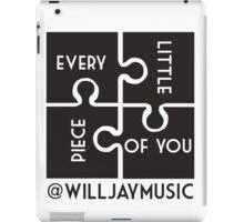Will Jay's - every little piece iPad Case/Skin