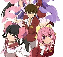 The World God Only Knows {Group Photo #1} by ToxicInk