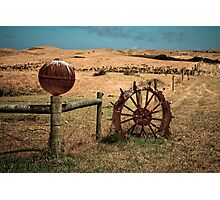 Boundary markers Photographic Print