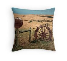 Boundary markers Throw Pillow