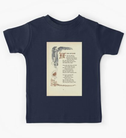 The Old Garden and Other Verses by Margaret Deland and Wade Campbell, Illustrated by Walter Crane 1894 160 - Love and Death Kids Tee