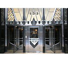 Art Deco Door, Chrysler Building, New York Photographic Print