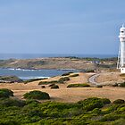 Currie Lighthouse and Harbour by Alex Howen