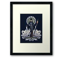 The Warden - Sulahn'nehn Framed Print