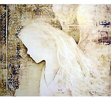 EN903 Angel Painting Photographic Print