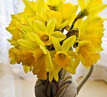 Daffodils by the Window by DonDavisUK