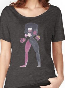 Garnet Steven Universe Watercolor Women's Relaxed Fit T-Shirt