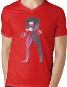 Garnet Steven Universe Watercolor Mens V-Neck T-Shirt