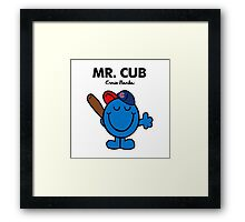 Mr. Cubs Framed Print