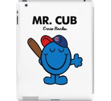 Mr. Cubs iPad Case/Skin