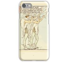 Queen Summer, or, The Tourney of the Lilly and the Rose by Walter Crane 1891 19 - The silver arum-trumpets sound iPhone Case/Skin
