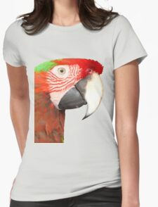 A Beautiful Bird Harlequin Macaw Portrait Background Removed T-Shirt