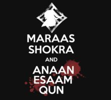 Keep Calm - Maraas Shokra and Anaan Esaam Qun by Shadyfolk
