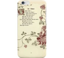 The Old Garden and Other Verses by Margaret Deland and Wade Campbell, Illustrated by Walter Crane 1894 61 - The Clover iPhone Case/Skin