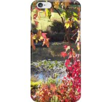 A Leaf Or Two From Nature's Book iPhone Case/Skin