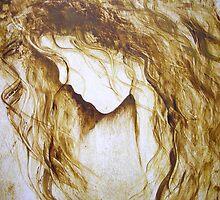 EN1078 Angel Painting by ReneaL