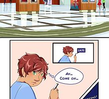 Delphinium - Don't Drink The Tea / Comic page by talicos