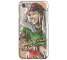 Toned Paper Mad March iPhone Case/Skin