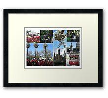 Bendigo Collage Framed Print