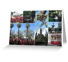 Bendigo Collage Greeting Card