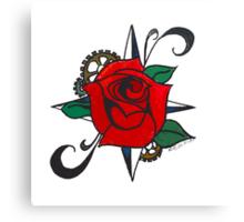 Steampunk Rose Canvas Print