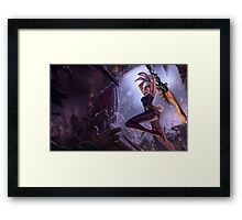 Riven - League of Legends (1) Framed Print