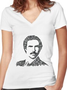 Anchorman Women's Fitted V-Neck T-Shirt
