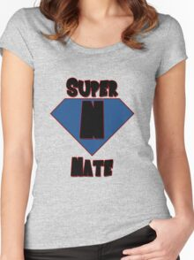 Super Nate! Women's Fitted Scoop T-Shirt
