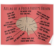 Funny Podiatrist Sayings Poster