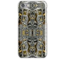 Steampunk Metal Gears Pattern iPhone Case/Skin