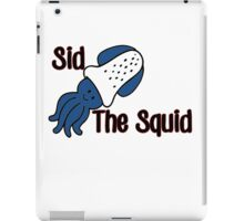 Sid the Squid! iPad Case/Skin