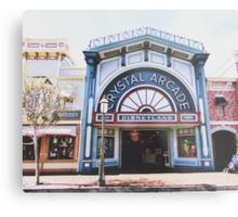 Disneyland's Main Street USA  Metal Print