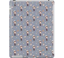 i can move mountains - blue iPad Case/Skin