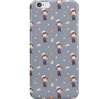i can move mountains - blue iPhone Case/Skin