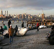 On Location, Brooklyn, New York, Like a Movie Set by Jane McDougall