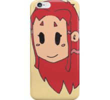 Starfire Teen Titans Chibi iPhone Case/Skin