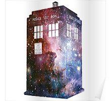 Galaxy Tardis Who Custom Design Poster