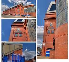 Ibrox Montage by Empato Photography