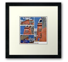 Ibrox Montage Framed Print