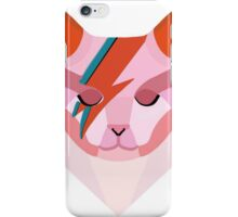 David Bowie as a Cat iPhone Case/Skin