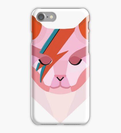 David Bowie Cat iPhone Case/Skin