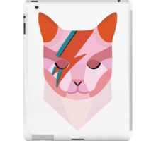 David Bowie Cat iPad Case/Skin