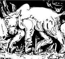 The Bull by Rabi Khan