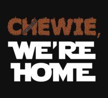 Chewie, we're home (dark) Kids Clothes