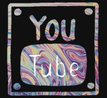 Swirled Youtube Logo Kids Clothes